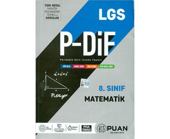 Puan 8.Sınıf LGS Matematik Periyodik Ders İzleme Föyleri
