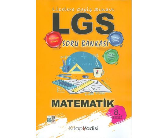 LGS Matematik Soru Bankası Kitap Vadisi Yayınları
