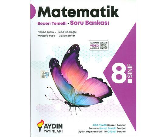 8.Sınıf Matematik Beceri Temelli Soru Bankası Aydın Yayınları