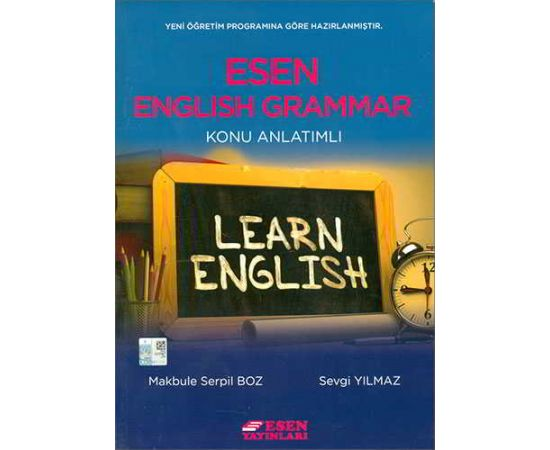 Esen English Grammar Konu Anlatımlı