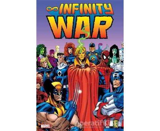 İnfinity War - Jim Starlin - Gerekli Şeyler Yayıncılık