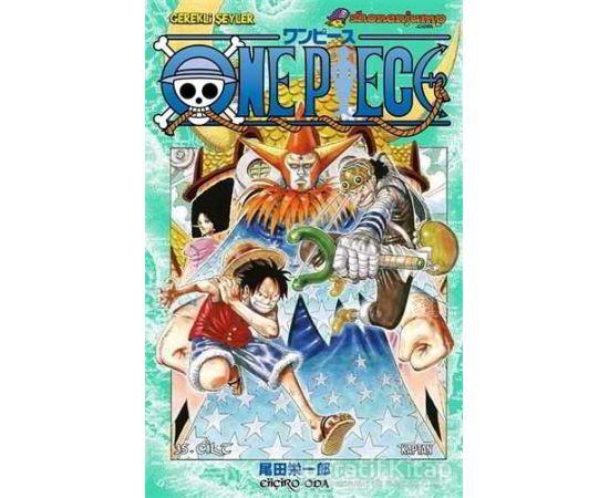 One Piece 35. Cilt - Eiiçiro Oda - Gerekli Şeyler Yayıncılık
