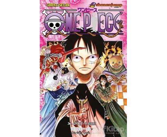 One Piece 36. Cilt - Eiiçiro Oda - Gerekli Şeyler Yayıncılık
