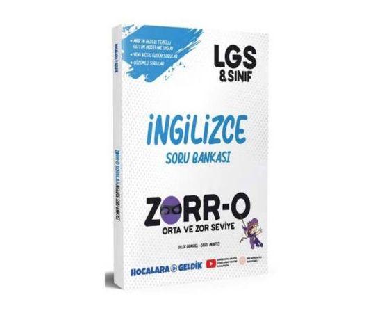 ZORR-O 8.Sınıf LGS İngilizce Soru Bankası - Hocalara Geldik