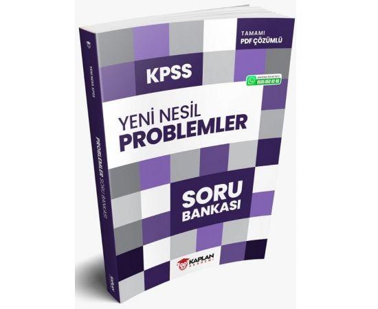Kaplan Akademi 2021 KPSS Problemler Yeni Nesil Soru Bankası PDF Çözümlü