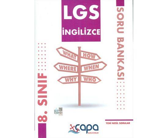 LGS 8.Sınıf İngilizce Soru Bankası Çapa Yayınları