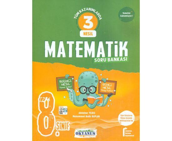 8.Sınıf 3 Nesil Matematik Soru Bankası Okyanus Yayınları
