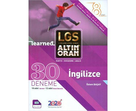 8.Sınıf LGS İngilizce 30 Deneme Borealis Yayıncılık