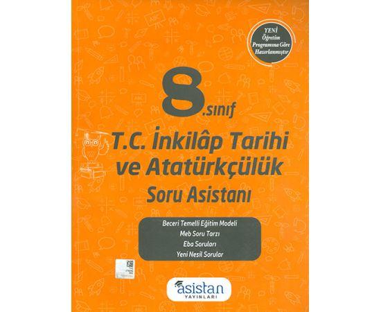 8.Sınıf İnkılap Tarihi Soru Bankası Asistan Yayınları