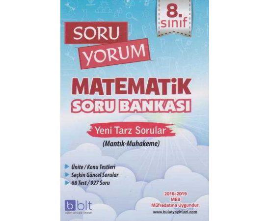 Bulut Eğitim 8.Sınıf Soru Yorum Matematik Soru Bankası