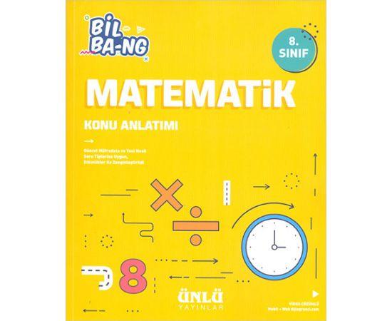 8.Sınıf Matematik Soru Bankası Ünlü Yayınları