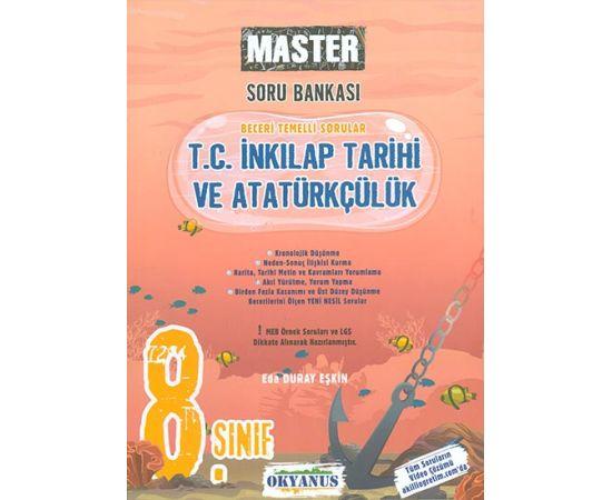 8.Sınıf Master İnkılap Tarihi Soru Bankası Okyanus Yayınları