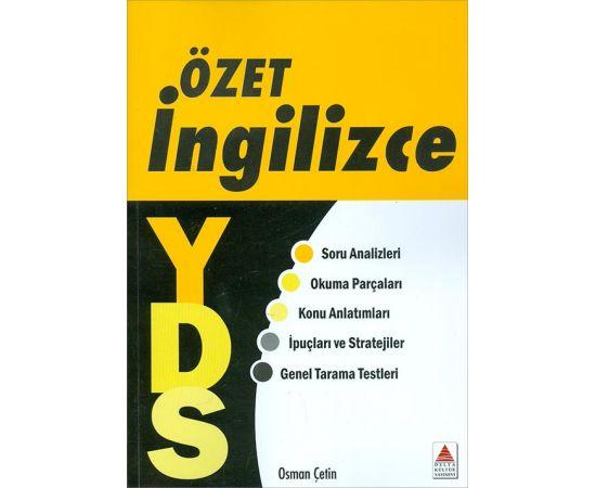 İngilizce YDS Özet - Osman Çetin - Delta Kültür Yayınevi