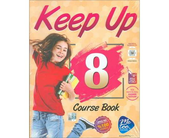 Keep Up 8 Course Book + Workbook Me Too Publishing