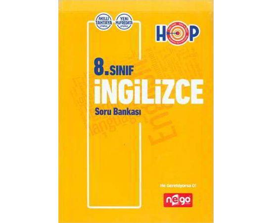 Nego 8.Sınıf İngilizce Soru Bankası HOP Serisi