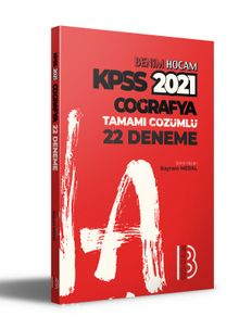 2021 KPSS Coğrafya Tamamı Çözümlü 22 Deneme