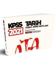 2021 KPSS Tarih Video Ders Notları