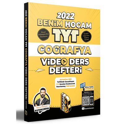 2022 TYT Coğrafya Video Ders Defteri Benim Hocam Yayınları
