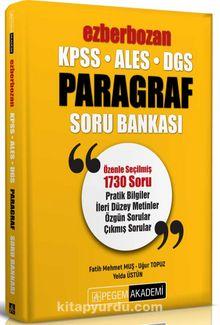 KPSS ALES DGS Ezberbozan Paragraf Soru Bankası