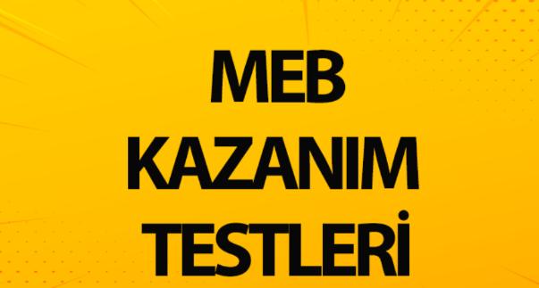 Meb kazanim testleri 2021 PDF indir